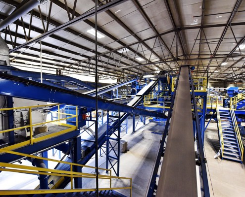 Momentum Recycling's Colorado Glass Recycling Plant